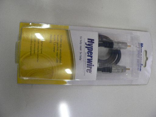 Audio/video kabel HW0111 (Hyperwire)