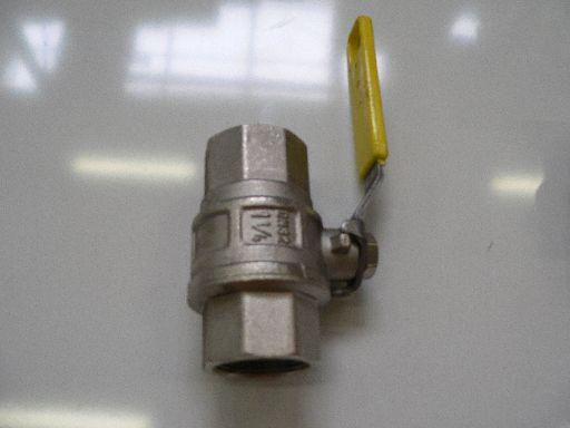 Grotere Afbeelding van de gaskogelkraan 1.1/4 2*bi.dr