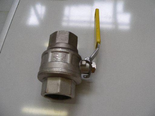 Grotere Afbeelding van de gaskogelkraan 1.1/2  2xbi.dr