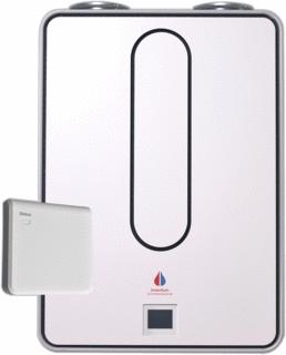Grotere Afbeelding van de Modul-AIR All-E warmtepomp inclusief RF ontvanger en ontluch